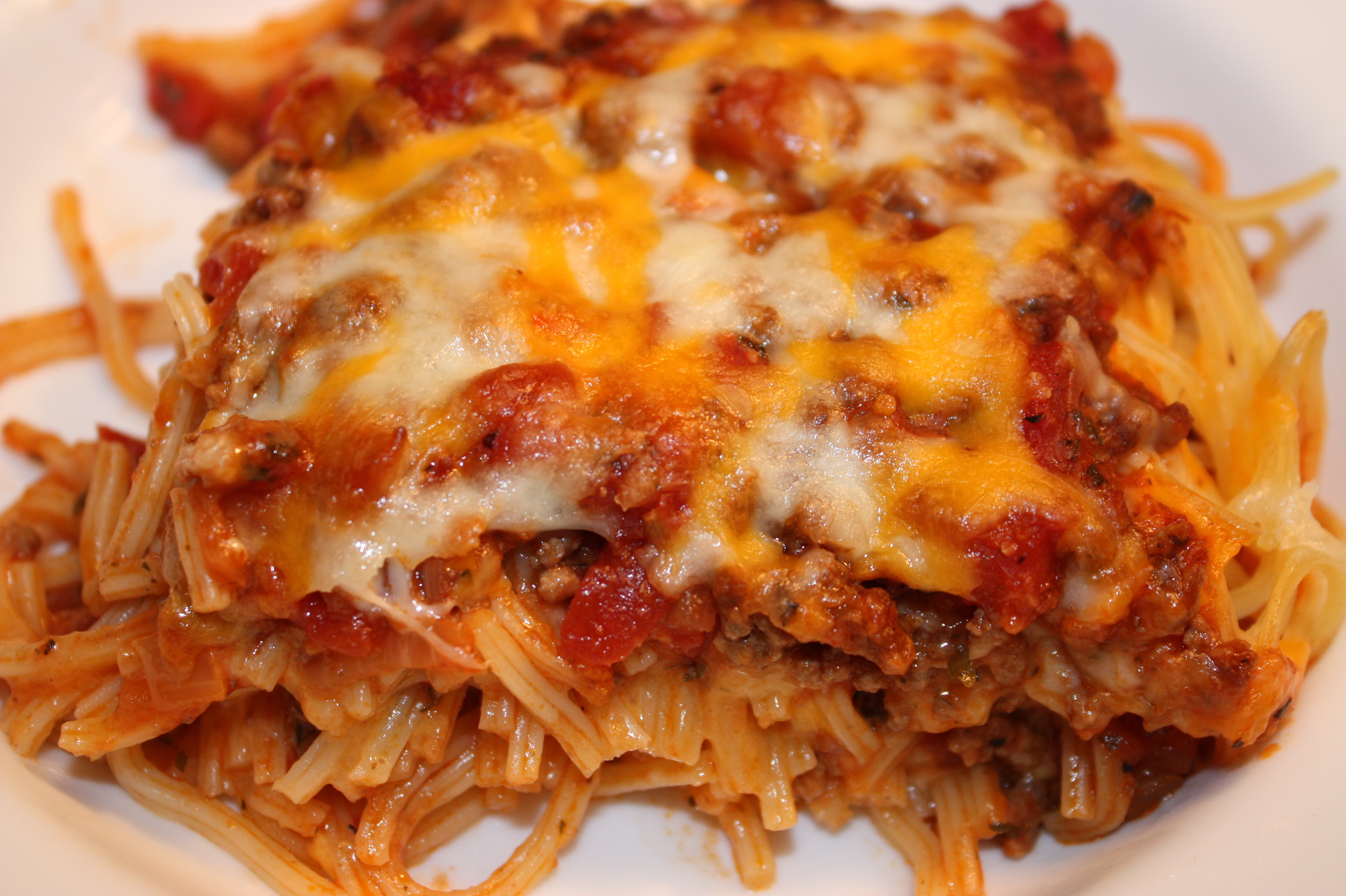 "Baked Spaghetti – One Blessed, ""Tired"" Mommy"